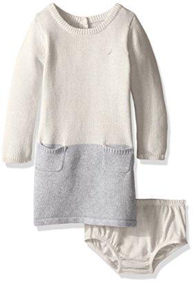 Nautica-Baby-Girls-Colorblock-Sweater-Dress
