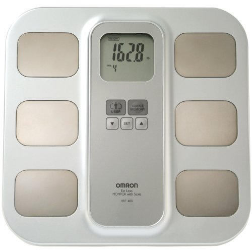 Omron HBF-400 Body Fat Monitor and Scale