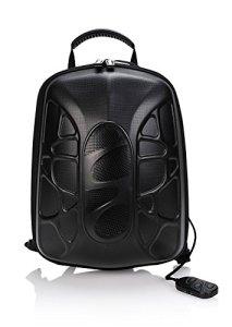 TRAKK-Shell-Waterproof-Lightweight-Bluetooth-Enabled-Wireless-Maxbass-Speaker-LED-Light-Backpack