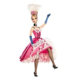 Can Can Barbie... shes worldly