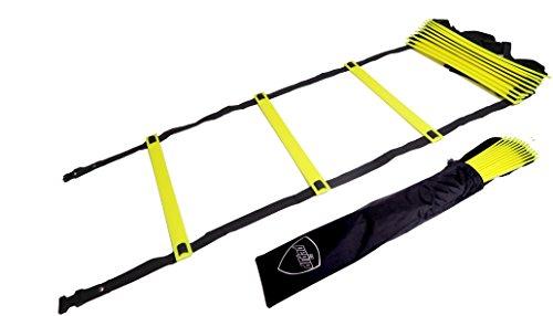Pepup Super Flat Adjustable Speed Agility Ladder