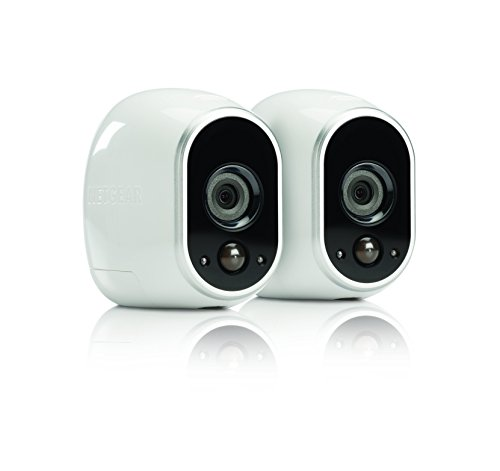 Arlo Security System - 2 Wire-Free HD Cameras, Indoor/Outdoor, Night Vision (VMS3230)