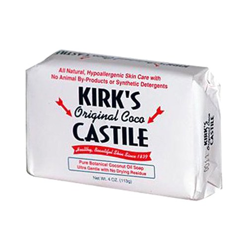 Kirk's Original Coco Castile Bar Soap 4 oz/pack of 3