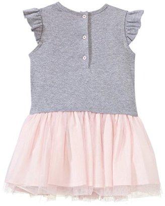 Fendi-Logo-T-Shirt-Dress-with-Tulle-Skirt-Gray-18-Months