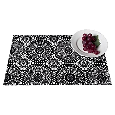 """Product Image Torre & Tagus Lace Print Placemat Set of 8 - 17.5x11"""""""