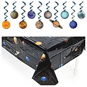 Amazoncom Solar System OUTER Space PARTY Decorations