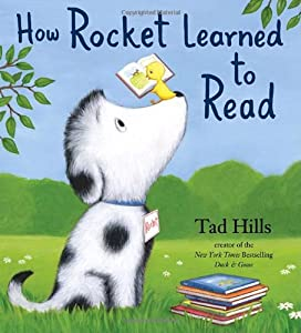 "Cover of ""How Rocket Learned to Read"""