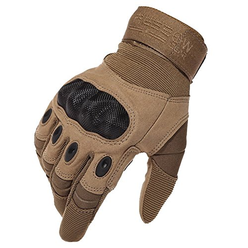 7e3778ab0923 Reebow Gear Military Hard Knuckle Tactical Gloves Full Finger for ...