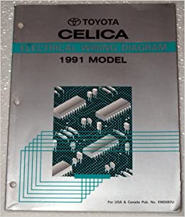 1991 Toyota Celica Electrical Wiring Diagram (AT180, ST184