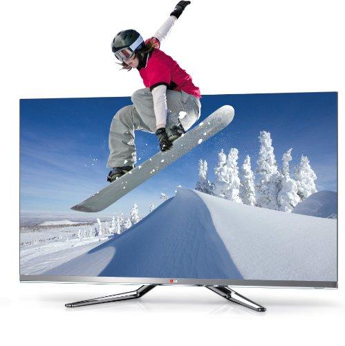 LG 55LM860V 140 cm (55 Zoll) Cinema 3D LED-Backlight Fernseher, Energieeffiziensklasse A+ (Full-HD, 800Hz MCI, DVB-T/C/S2, InternetTV)