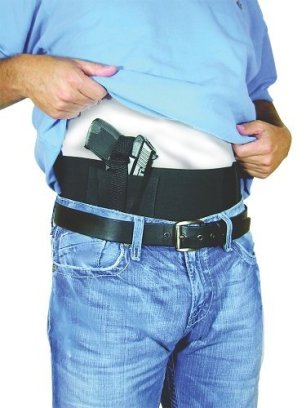 Waist Wrap Holster Gun Belly Band, Large