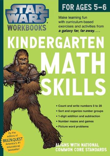 Star Wars Workbook: Kindergarten Math Skills (Star Wars Workbooks) - Star Wars Workbooks