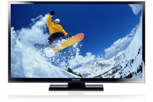 Samsung PS51E450 129 cm (51 Zoll) Plasma-Fernseher, Energieeffizienzklasse B (HD Ready, 600Hz CMR, DVB-T/C, CI+) schwarz