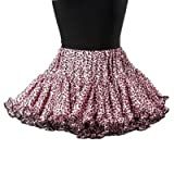 Hell Bunny Mini-Rock LEO TUTU pink