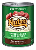 The Nutro Company Puppy Food Can with Lamb and Rice Formula, 12.5-Ounce
