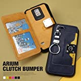 【iPhone6 Plus】i6+ (Im) Arium Clutch Bumper Case/iPhone6 Plus 5.5インチケース iPhone6 5.5inch カバー アイフォン6プラス ケース (black)
