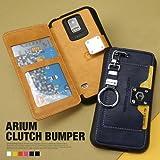【iPhone6 Plus】i6+ (Im) Arium Clutch Bumper Case/iPhone6 Plus 5.5インチケース iPhone6 5.5inch カバー アイフォン6プラス ケース (black)