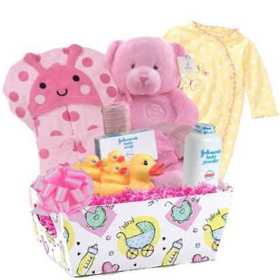 Baby-Boutique-Pretty-Baby-Baby-Girls-New-Baby-Gift-Basket-Pink