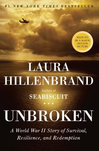 Unbroken: A World War II Story of Survival, Resilience, and Redemption by Laura Hillenbrand | Jorie's Store @ Amazon