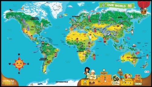 リープフロッグ(LeapFrog) 地図ワールドマップ TAG: WORLD MAP PACK 29201