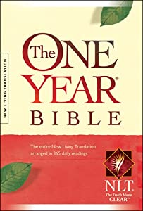 "Cover of ""The One Year Bible: New Living ..."