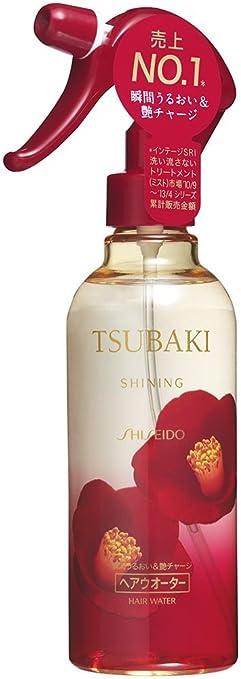 KRACIE Tsubaki Shining Hair Water, 8.45 Fluid Ounce