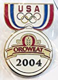 2004 Athens Greece Olympics USA Oroweat Promotional Trading Collectible Lapel Pin