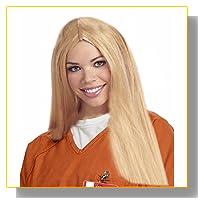 Costume Adventure Women's Blonde Prisoner Costume Wig
