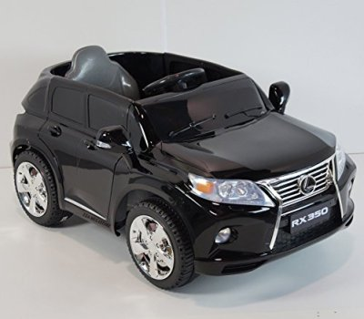 Licensed-Lexus-RX350-Black-SUV-battery-operated-ride-on-car-for-children-with-remote-control
