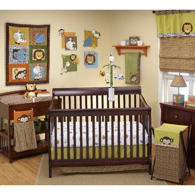 Leopard Print Crib Bedding