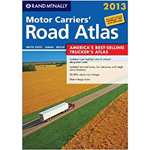 2013 Rand McNally Motor Carriers' Paperback Road Atlas