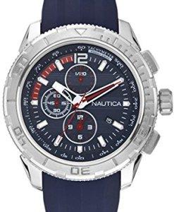 Nautica A18724G - Reloj de pulsera hombre, silicona, color azul