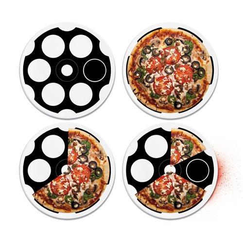 Pizza Gadget: Pizza Roulette, damit sich nicht mehr über die Pizza streitet