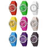 Lila Damen Madison New York Armbanduhr veredelt mit SWAROVSKI ELEMENTS