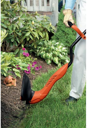 Electric Decker Black And Trimmer