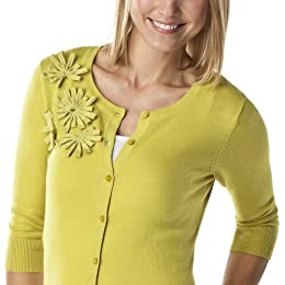 Product Image Merona Green Artist Lite Table Sweater - Small