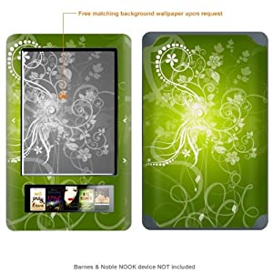Protective Decal Skin Sticker for Barnes & Noble Nook case cover NOOK-182