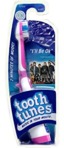 Tooth Tunes Musical Toothbrush - McFly - I'll Be OK ... on Decorative Sconces Don't Need Electric Toothbrush id=32221