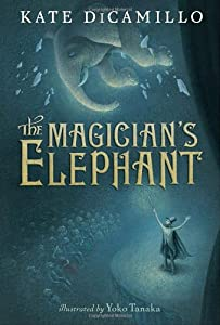 """Cover of """"The Magician's Elephant"""""""