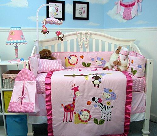 Baby Girl Crib Bedding Under 75