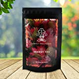 Simply Tealicious - For Natural Energy + Promote Weight Loss + Craving Control + Appetite Suppression + Delicious Taste + 100% Certified Organic Ingredients. Energy and Metabolic Boost Tea with a Natural Blend of Green tea, Oolong tea, White tea, Pu erh Tea, and More!