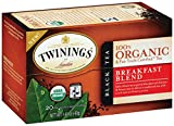 Twinings Breakfast Blend Organic Tea, 20 Count Tea Bags