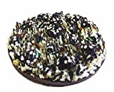 Chocolate Candy Gift NomNom Delights Double Mint Oreo Cookie Chocolate Lovers Popcorn Pizza - Unique Gourmet Gift Kosher Certified