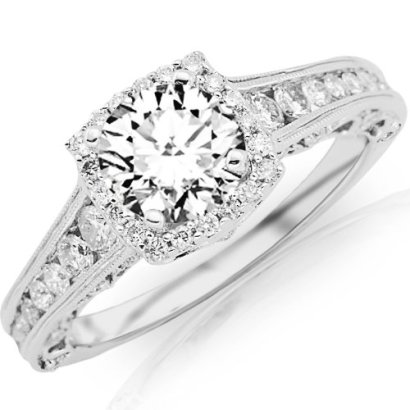 15-Carat-Designer-Halo-Channel-Set-Round-Diamond-Engagement-Ring-with-Milgrain-14K-White-Gold-with-a-075-Carat-G-H-VS2-SI1-Center