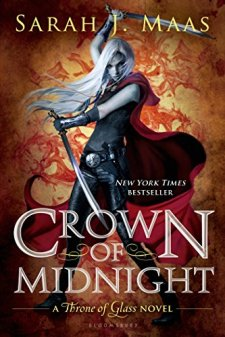 Crown of Midnight (Throne of Glass) by Sarah J. Maas| wearewordnerds.com