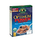 Nature's Path Organic Optimum Power Flax, Soy & Blueberry Cereal 14 oz. (Pack of 12)