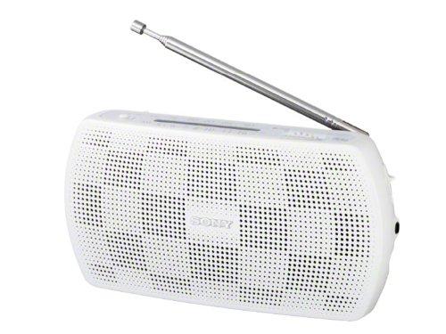 SONY ステレオポータブルラジオ ホワイト SRF-18/W