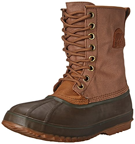 Sorel Men's 1964 Premium T CVS Boot, Elk/Surplus Green, 9 M US