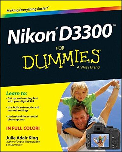1118204972 – Nikon D3300 For Dummies