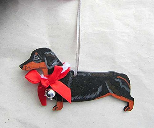 Hand-Painted DACHSHUND Ornament